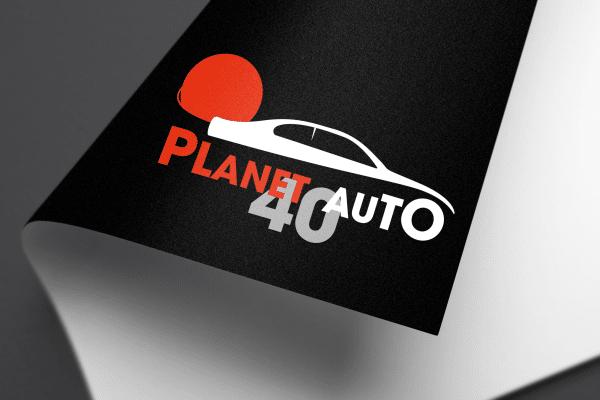 Agence Graphics Creation Logo Planete Auto 40 Biscarosse Landes Pau Bayonne Trabes France Entreprise Aquitaine Gironde