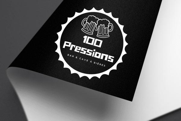 Agence Graphics Creation Logo 100 Pressions Biscarosse Landes Pau Bayonne Trabes France Entreprise Aquitaine Gironde