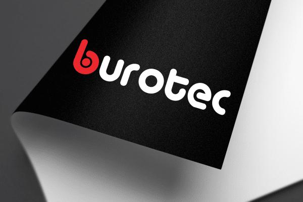Agence Graphics Creation Logo Burotec Landes Pau Bayonne Trabes France Entreprise Aquitaine Gironde