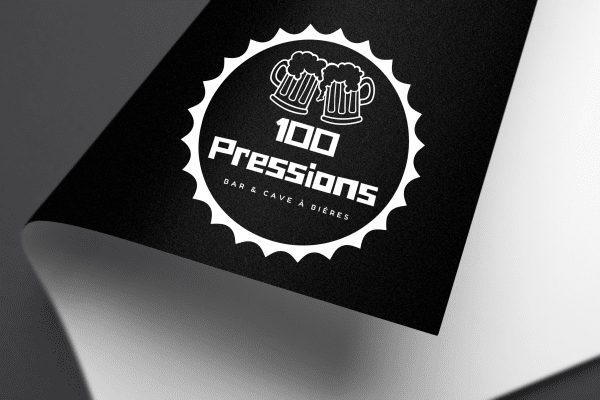 Agence Graphics Creation Logo 100 Pressions Biscarosse Landes Pau Bayonne Trabes France Entreprise Aquitaine Gironde