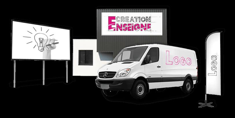 SIGNALETIQUE : Enseigne - Vehicule - Marquage - Vitrine