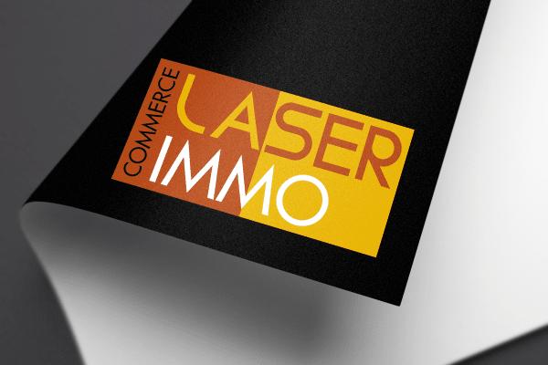Agence Graphics Creation Logo Laser Immo Commerce Landes Pau Bayonne Trabes France Entreprise Aquitaine Gironde