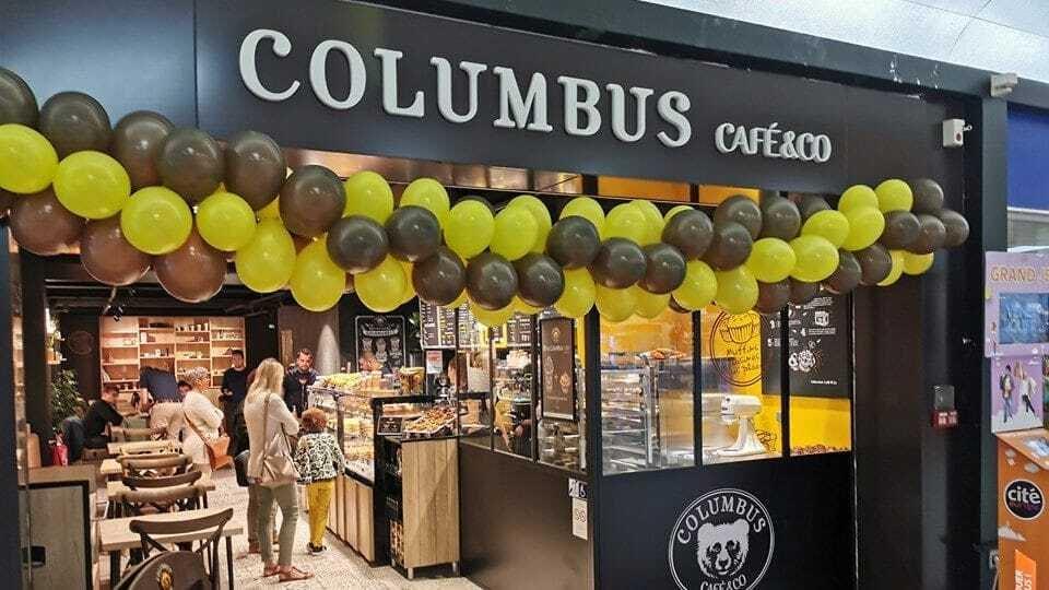 Enseigne Columbus Café