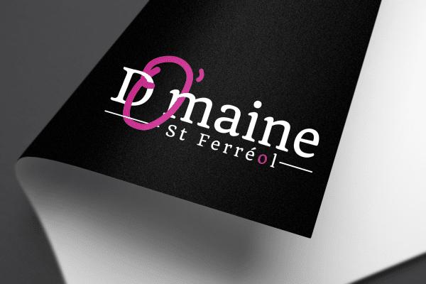 Creation Realisation Logo Mockup O'bouchon St Ferreol Tarbe