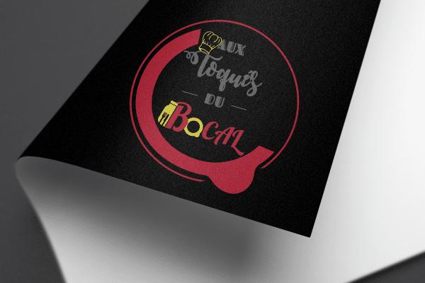 Agence Graphics Creation Logo Aux Toques Du Bocal Landes Pau Bayonne Trabes France Entreprise Aquitaine Gironde
