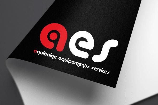 Agence Graphics Creation Logo Aes Mont De Marsan Biscarosse Landes Pau Bayonne Trabes France Entreprise Aquitaine Gironde