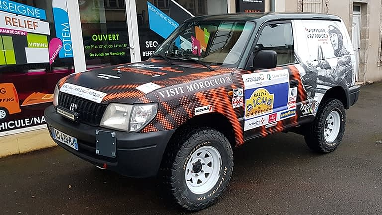 Covering Agence Graphics Wrapping 4x4 Arlon Voiture Camion Utilitaires
